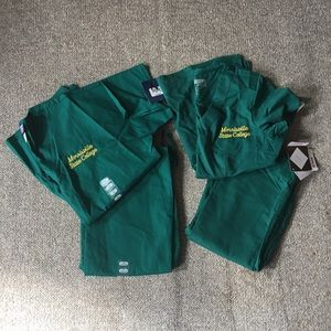 Other - Morrisville State College Scrubs NWT